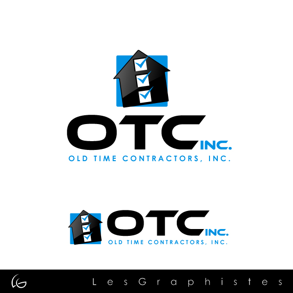 Logo Design by Les-Graphistes - Entry No. 13 in the Logo Design Contest Old Time Contractors, Inc. (new brand:  OTC, Inc.) Logo Design.