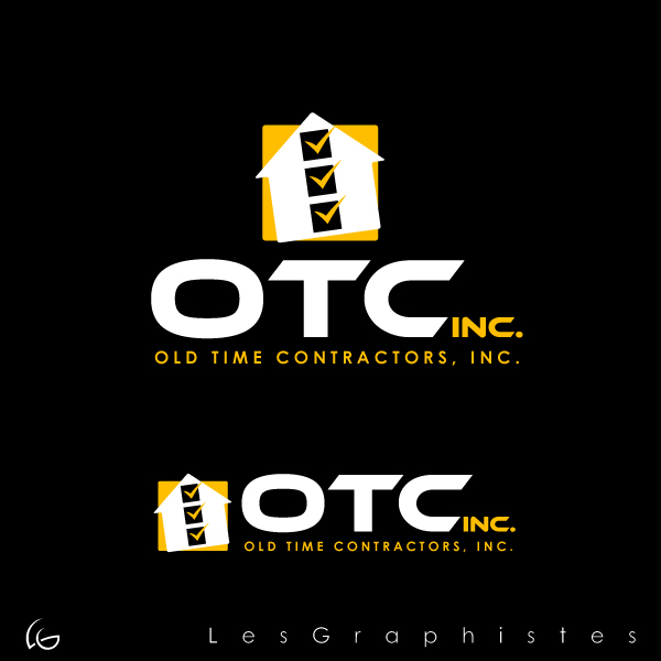Logo Design by Les-Graphistes - Entry No. 14 in the Logo Design Contest Old Time Contractors, Inc. (new brand:  OTC, Inc.) Logo Design.