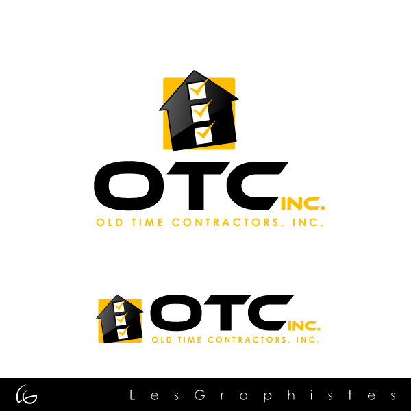Logo Design by Les-Graphistes - Entry No. 15 in the Logo Design Contest Old Time Contractors, Inc. (new brand:  OTC, Inc.) Logo Design.