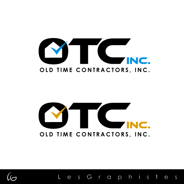 Logo Design by Les-Graphistes - Entry No. 16 in the Logo Design Contest Old Time Contractors, Inc. (new brand:  OTC, Inc.) Logo Design.