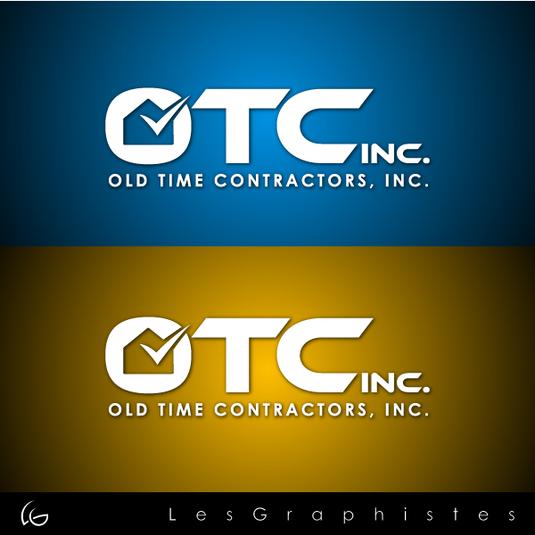 Logo Design by Les-Graphistes - Entry No. 17 in the Logo Design Contest Old Time Contractors, Inc. (new brand:  OTC, Inc.) Logo Design.