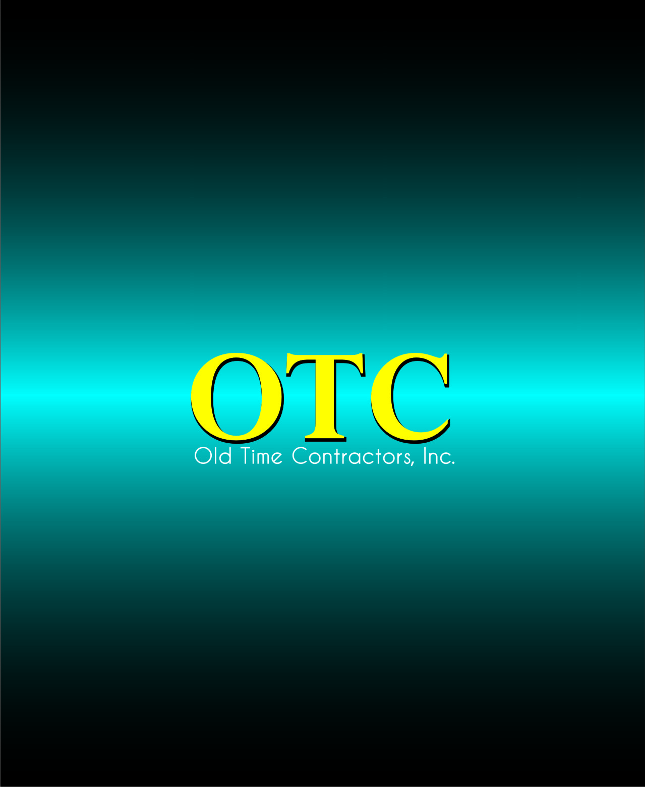 Logo Design by Private User - Entry No. 18 in the Logo Design Contest Old Time Contractors, Inc. (new brand:  OTC, Inc.) Logo Design.