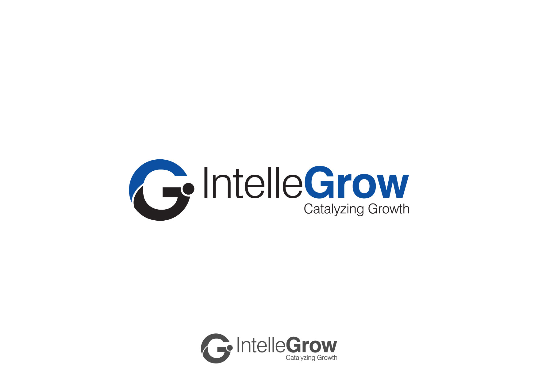 Logo Design by Nurgalih Destianto - Entry No. 97 in the Logo Design Contest Logo Design Needed for Exciting New Company IntelleGrow Finance Pvt. Ltd..