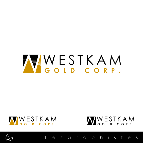 Logo Design by Les-Graphistes - Entry No. 39 in the Logo Design Contest New Logo Design for WestKam Gold Corp..