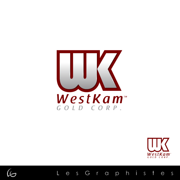 Logo Design by Les-Graphistes - Entry No. 42 in the Logo Design Contest New Logo Design for WestKam Gold Corp..