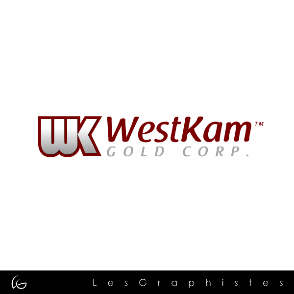 Logo Design by Les-Graphistes - Entry No. 44 in the Logo Design Contest New Logo Design for WestKam Gold Corp..