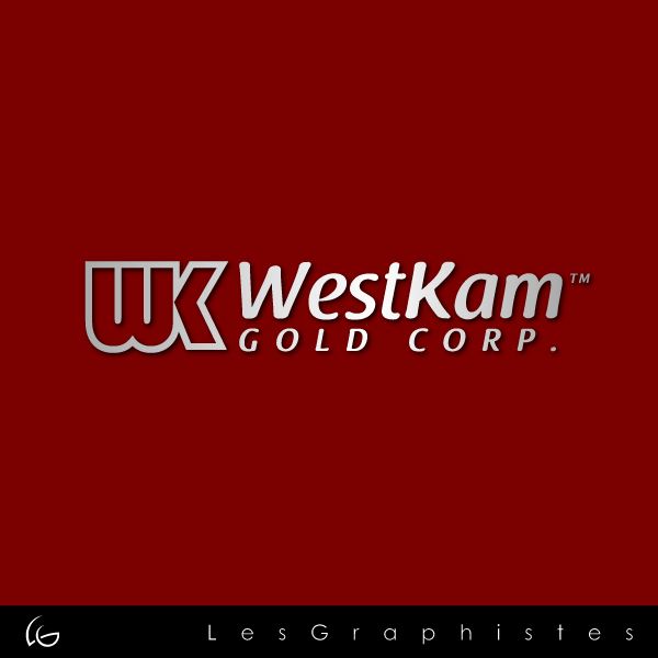 Logo Design by Les-Graphistes - Entry No. 45 in the Logo Design Contest New Logo Design for WestKam Gold Corp..
