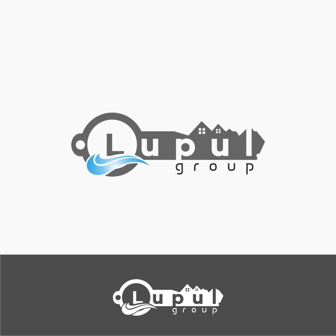 Logo Design by graphicleaf - Entry No. 200 in the Logo Design Contest Logo Design for: The Lupul Group.
