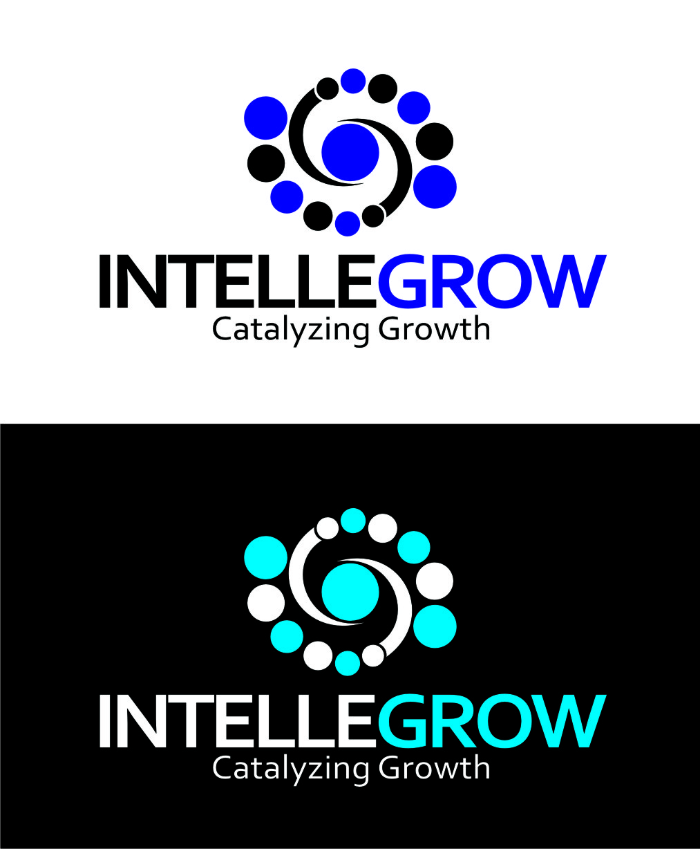 Logo Design by Private User - Entry No. 109 in the Logo Design Contest Logo Design Needed for Exciting New Company IntelleGrow Finance Pvt. Ltd..