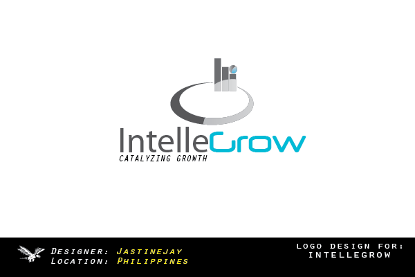 Logo Design by Jastinejay Manliguez - Entry No. 115 in the Logo Design Contest Logo Design Needed for Exciting New Company IntelleGrow Finance Pvt. Ltd..