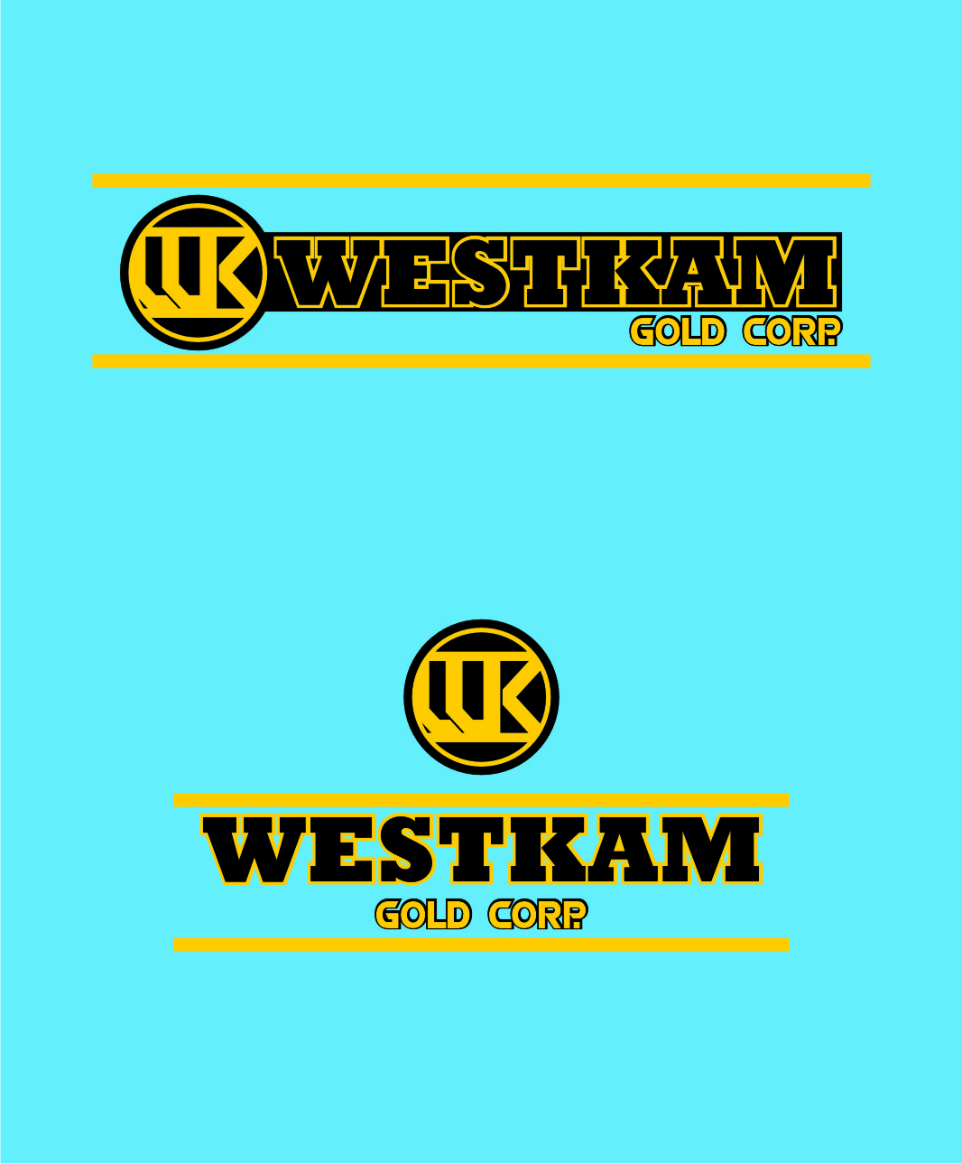 Logo Design by Private User - Entry No. 53 in the Logo Design Contest New Logo Design for WestKam Gold Corp..
