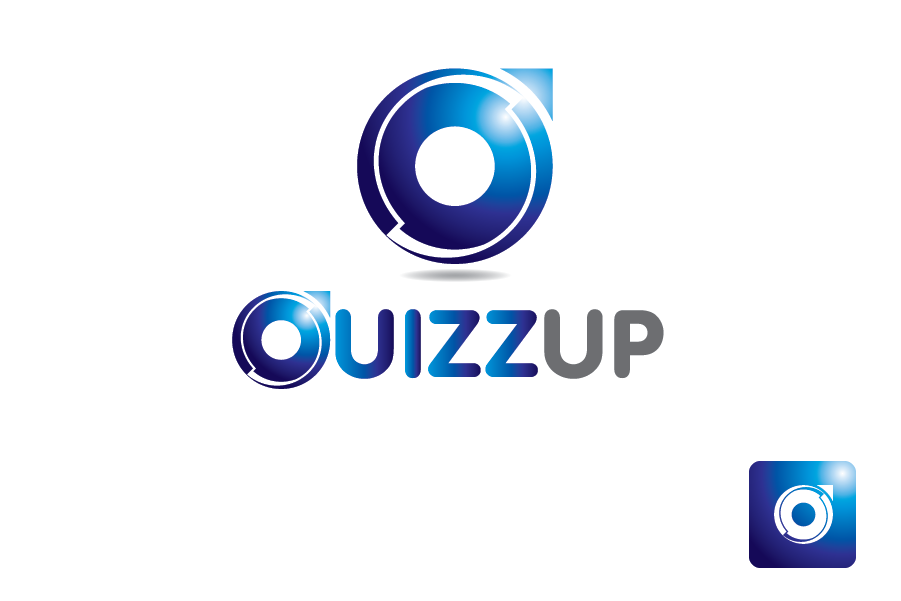 Logo Design by Moin Javed - Entry No. 1 in the Logo Design Contest Logo Design for QuizUp app.