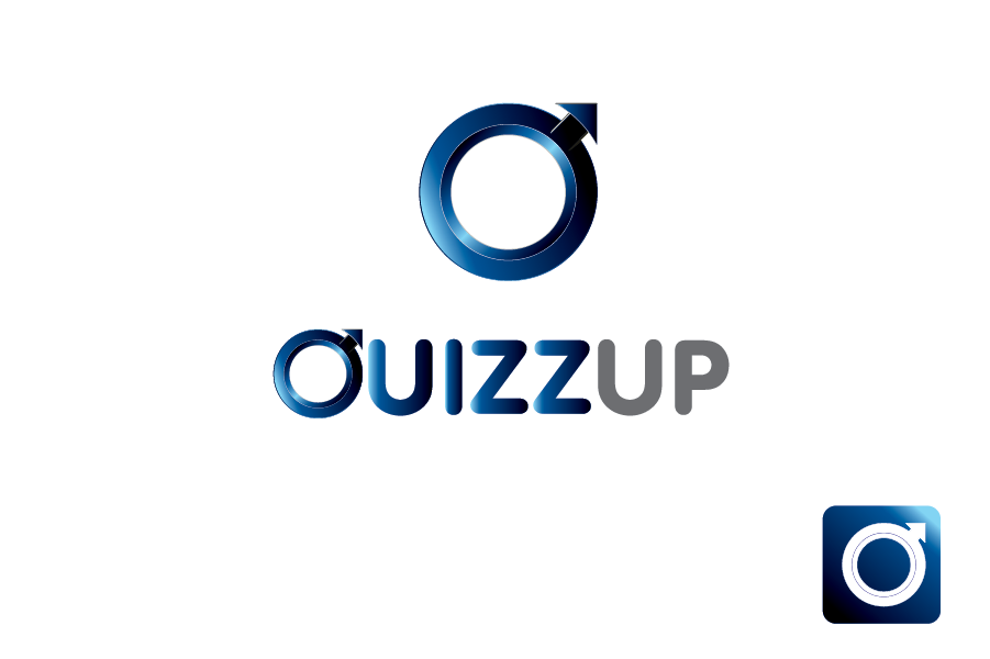 Logo Design by Moin Javed - Entry No. 2 in the Logo Design Contest Logo Design for QuizUp app.
