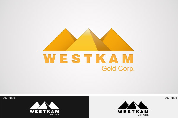 Logo Design by Private User - Entry No. 72 in the Logo Design Contest New Logo Design for WestKam Gold Corp..