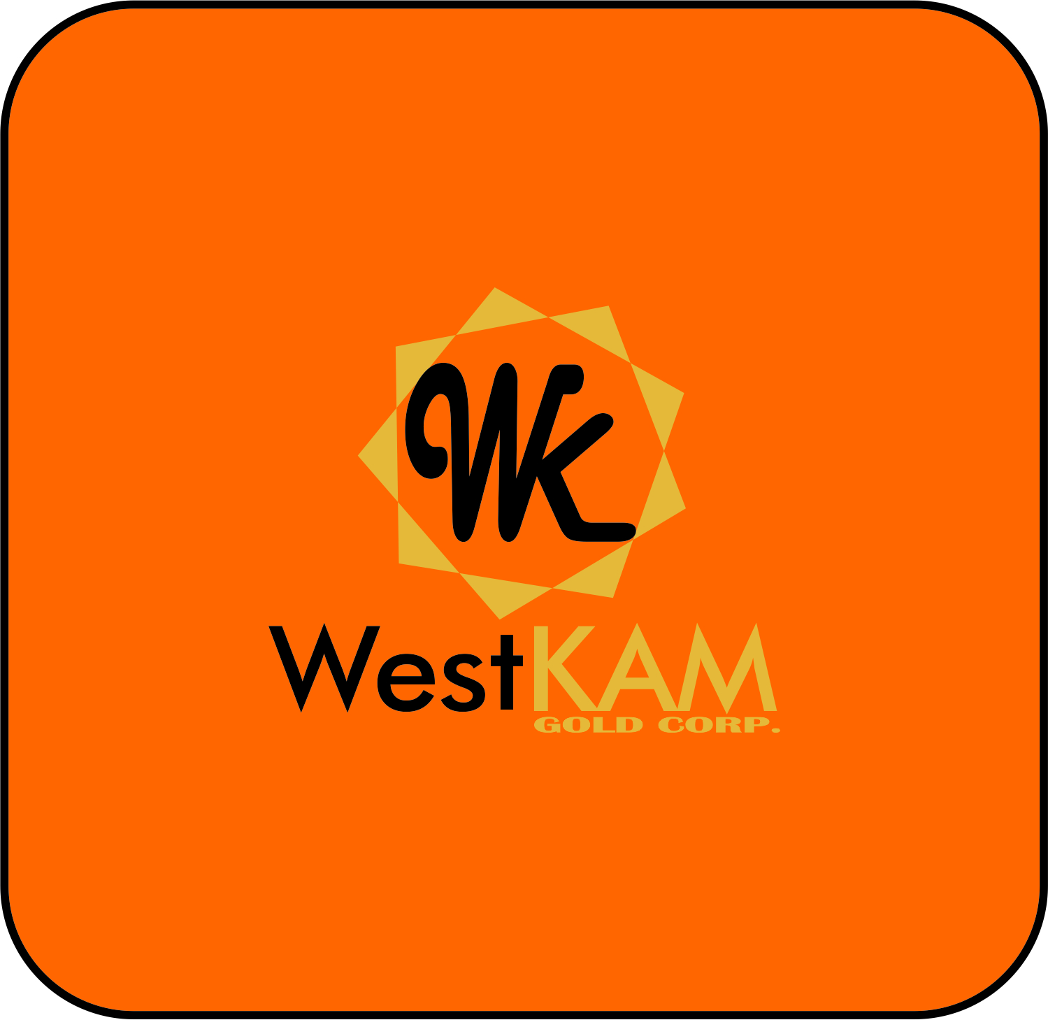 Logo Design by ASEP NURROHMAN - Entry No. 73 in the Logo Design Contest New Logo Design for WestKam Gold Corp..