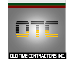 Logo Design by Jastinejay Manliguez - Entry No. 33 in the Logo Design Contest Old Time Contractors, Inc. (new brand:  OTC, Inc.) Logo Design.