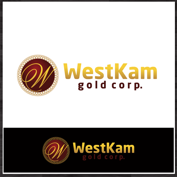 Logo Design by Dafinka Kitanova - Entry No. 75 in the Logo Design Contest New Logo Design for WestKam Gold Corp..