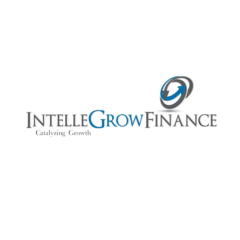Logo Design by moonflower - Entry No. 134 in the Logo Design Contest Logo Design Needed for Exciting New Company IntelleGrow Finance Pvt. Ltd..