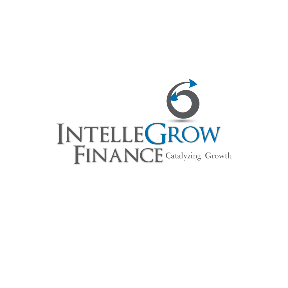 Logo Design by moonflower - Entry No. 138 in the Logo Design Contest Logo Design Needed for Exciting New Company IntelleGrow Finance Pvt. Ltd..