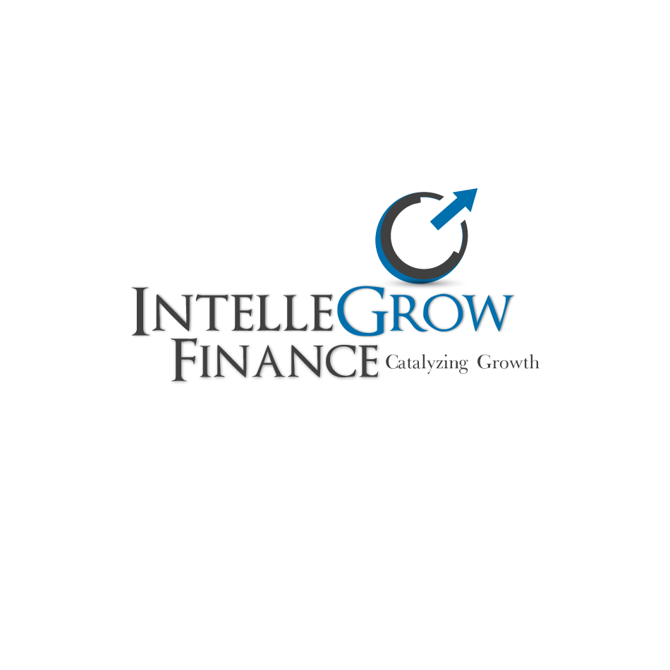 Logo Design by moonflower - Entry No. 139 in the Logo Design Contest Logo Design Needed for Exciting New Company IntelleGrow Finance Pvt. Ltd..