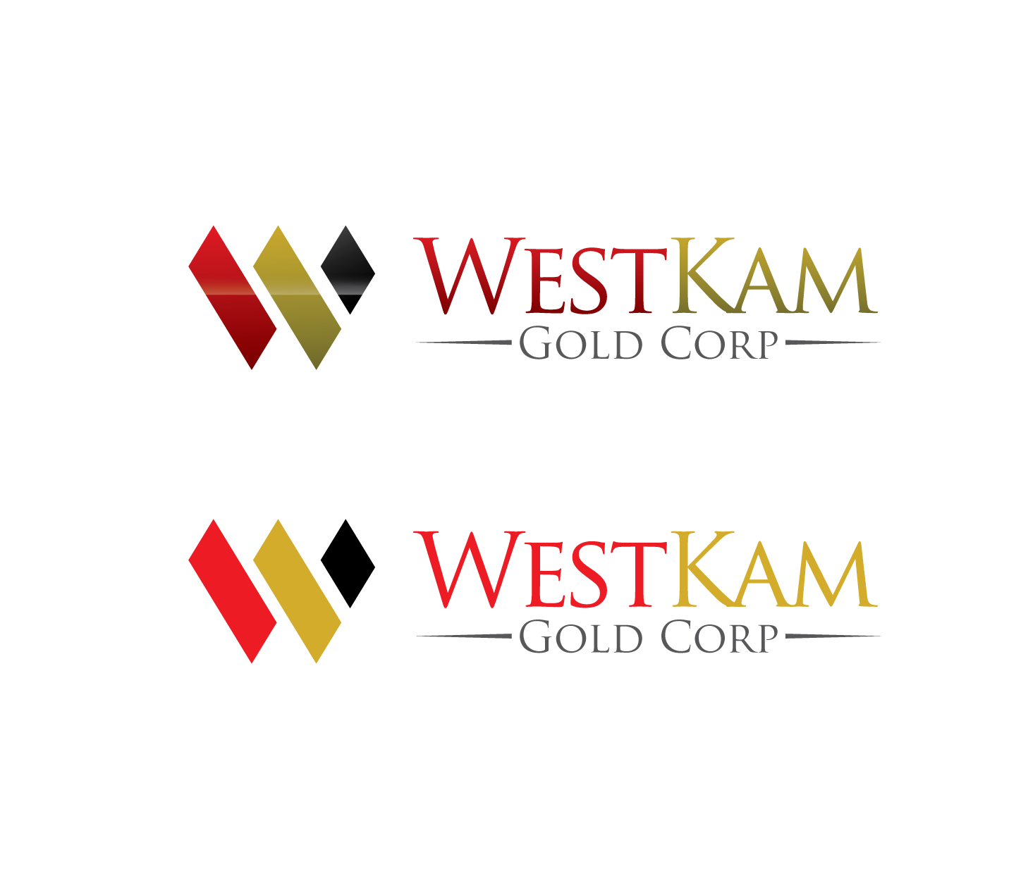 Logo Design by Private User - Entry No. 78 in the Logo Design Contest New Logo Design for WestKam Gold Corp..