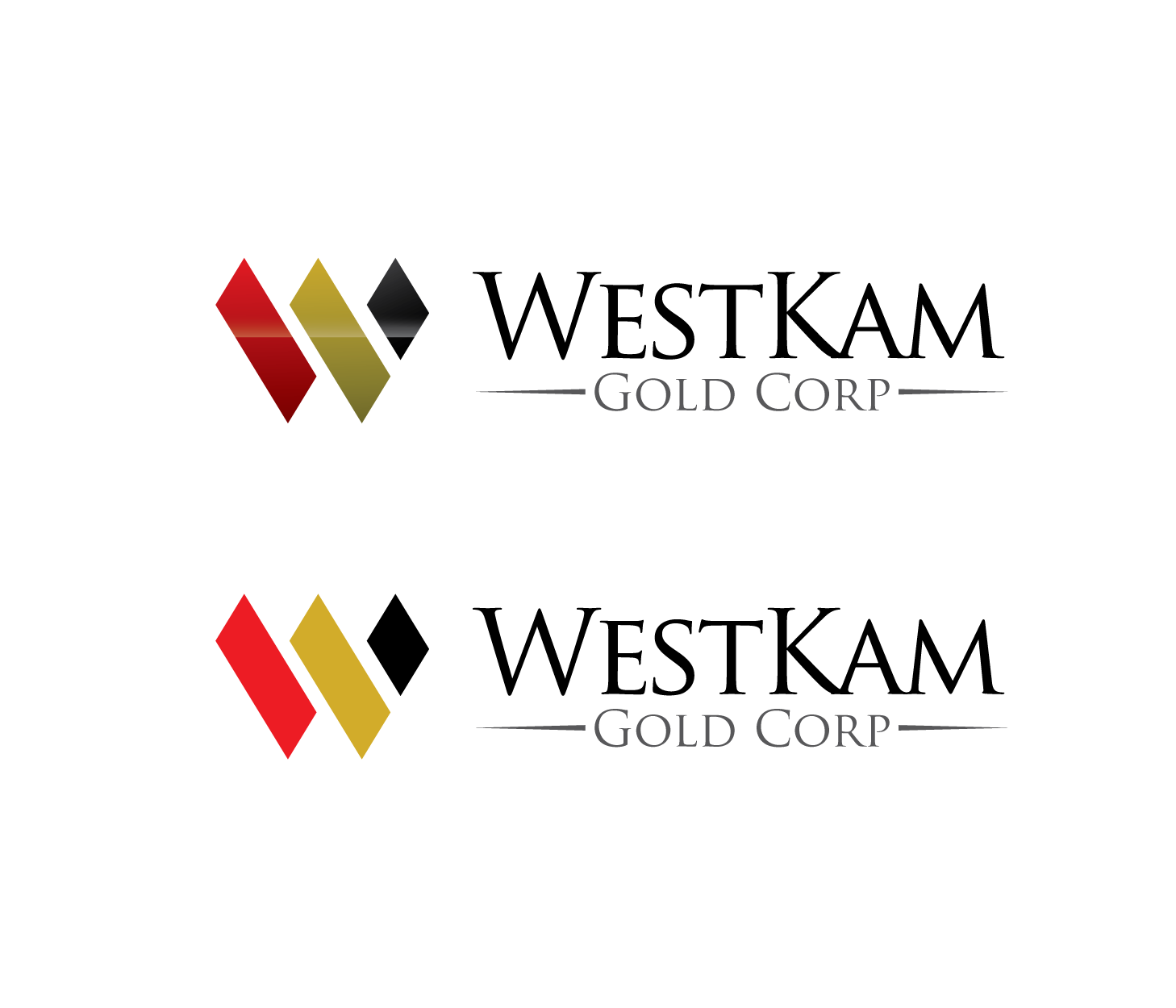 Logo Design by Private User - Entry No. 79 in the Logo Design Contest New Logo Design for WestKam Gold Corp..