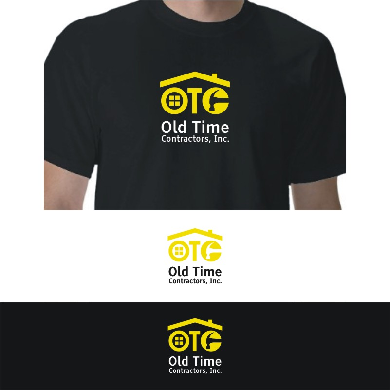Logo Design by Private User - Entry No. 38 in the Logo Design Contest Old Time Contractors, Inc. (new brand:  OTC, Inc.) Logo Design.