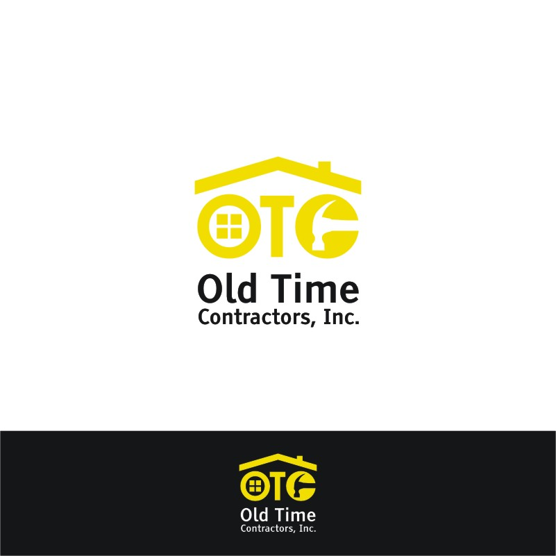 Logo Design by Private User - Entry No. 40 in the Logo Design Contest Old Time Contractors, Inc. (new brand:  OTC, Inc.) Logo Design.