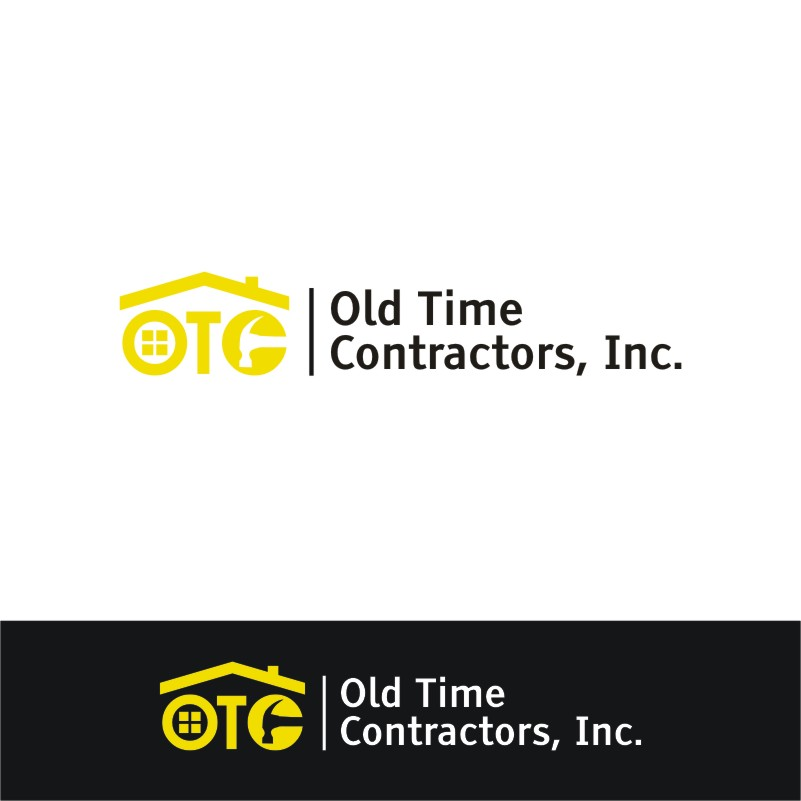 Logo Design by Private User - Entry No. 41 in the Logo Design Contest Old Time Contractors, Inc. (new brand:  OTC, Inc.) Logo Design.