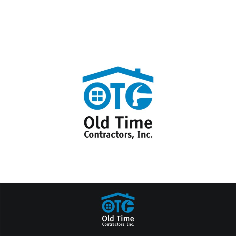 Logo Design by Private User - Entry No. 42 in the Logo Design Contest Old Time Contractors, Inc. (new brand:  OTC, Inc.) Logo Design.