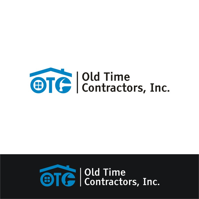 Logo Design by Private User - Entry No. 43 in the Logo Design Contest Old Time Contractors, Inc. (new brand:  OTC, Inc.) Logo Design.