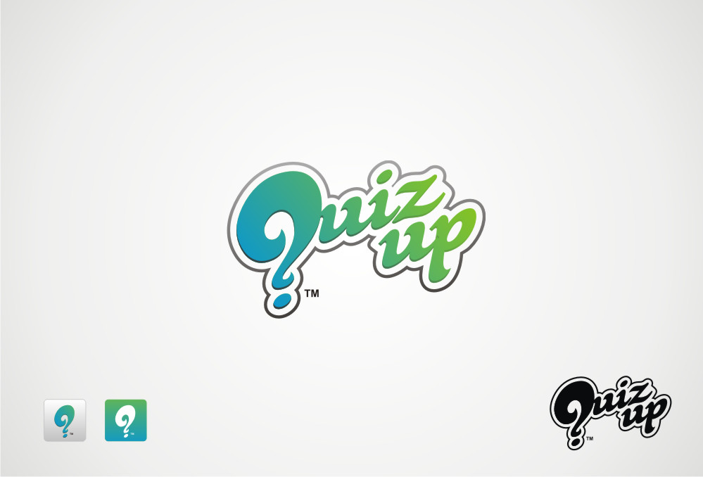 Logo Design by Private User - Entry No. 8 in the Logo Design Contest Logo Design for QuizUp app.
