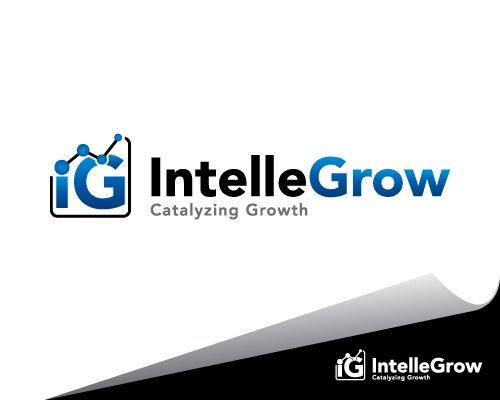 Logo Design by mazalix - Entry No. 142 in the Logo Design Contest Logo Design Needed for Exciting New Company IntelleGrow Finance Pvt. Ltd..