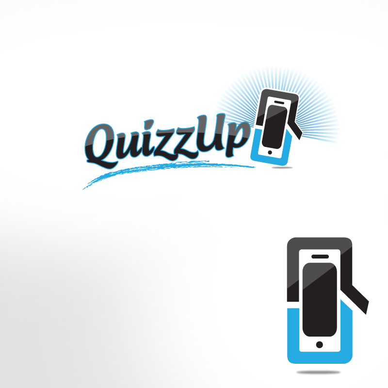 Logo Design by storm - Entry No. 10 in the Logo Design Contest Logo Design for QuizUp app.