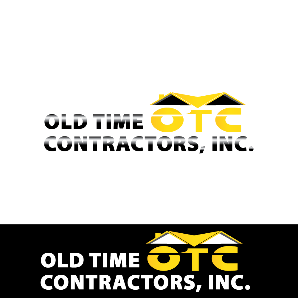 Logo Design by Jeferlan Sbado - Entry No. 47 in the Logo Design Contest Old Time Contractors, Inc. (new brand:  OTC, Inc.) Logo Design.