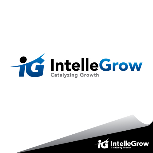 Logo Design by mazalix - Entry No. 144 in the Logo Design Contest Logo Design Needed for Exciting New Company IntelleGrow Finance Pvt. Ltd..