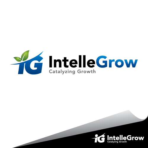 Logo Design by mazalix - Entry No. 145 in the Logo Design Contest Logo Design Needed for Exciting New Company IntelleGrow Finance Pvt. Ltd..
