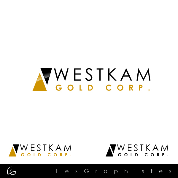 Logo Design by Les-Graphistes - Entry No. 90 in the Logo Design Contest New Logo Design for WestKam Gold Corp..