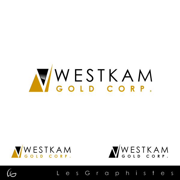 Logo Design by Les-Graphistes - Entry No. 91 in the Logo Design Contest New Logo Design for WestKam Gold Corp..