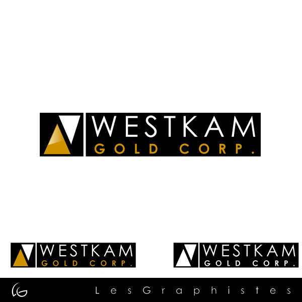 Logo Design by Les-Graphistes - Entry No. 92 in the Logo Design Contest New Logo Design for WestKam Gold Corp..