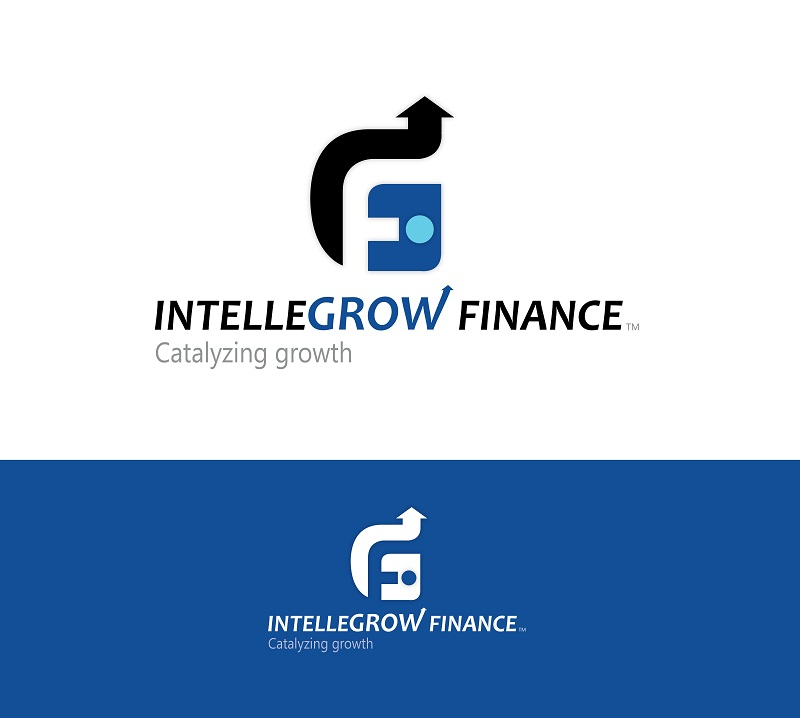 Logo Design by kowreck - Entry No. 151 in the Logo Design Contest Logo Design Needed for Exciting New Company IntelleGrow Finance Pvt. Ltd..