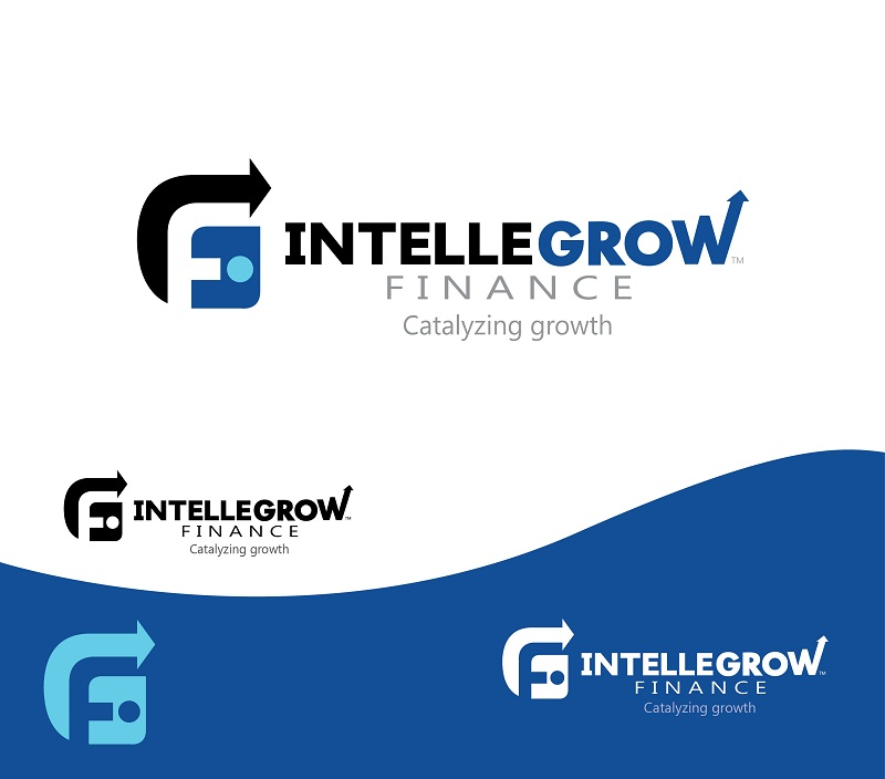 Logo Design by kowreck - Entry No. 152 in the Logo Design Contest Logo Design Needed for Exciting New Company IntelleGrow Finance Pvt. Ltd..