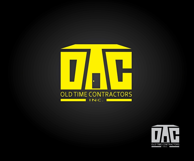 Logo Design by kowreck - Entry No. 50 in the Logo Design Contest Old Time Contractors, Inc. (new brand:  OTC, Inc.) Logo Design.