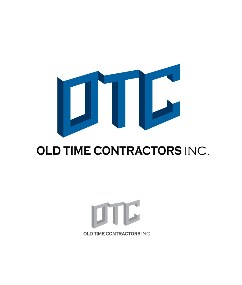Logo Design by kowreck - Entry No. 54 in the Logo Design Contest Old Time Contractors, Inc. (new brand:  OTC, Inc.) Logo Design.