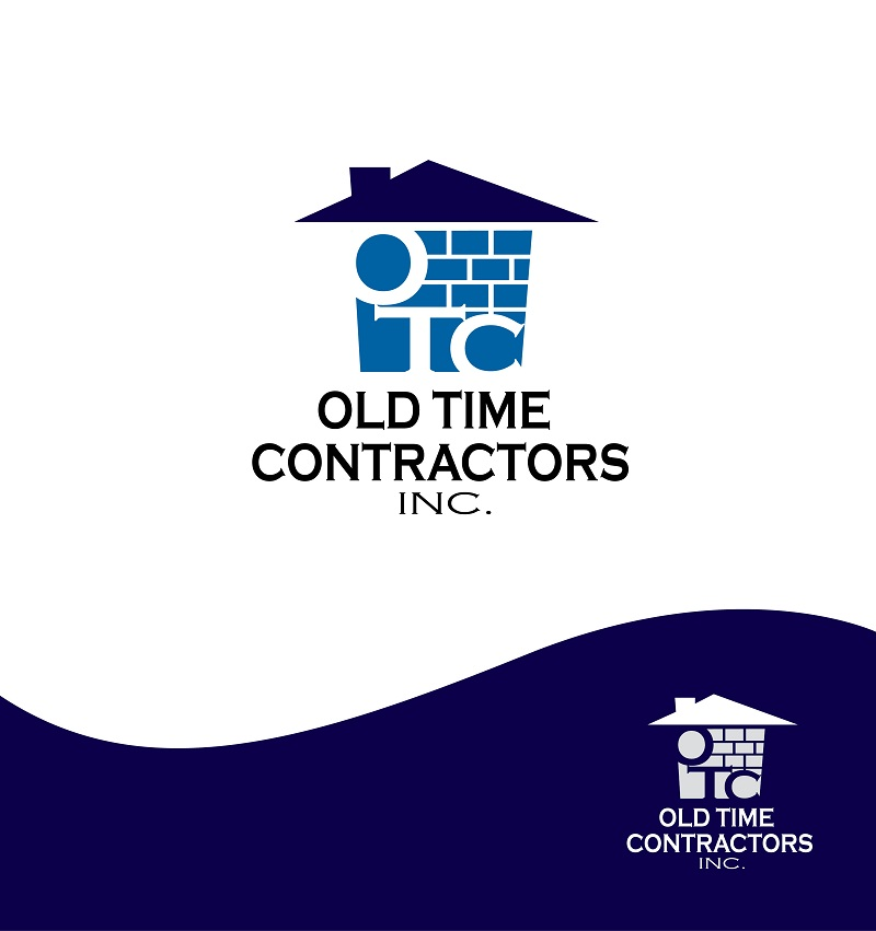 Logo Design by kowreck - Entry No. 56 in the Logo Design Contest Old Time Contractors, Inc. (new brand:  OTC, Inc.) Logo Design.