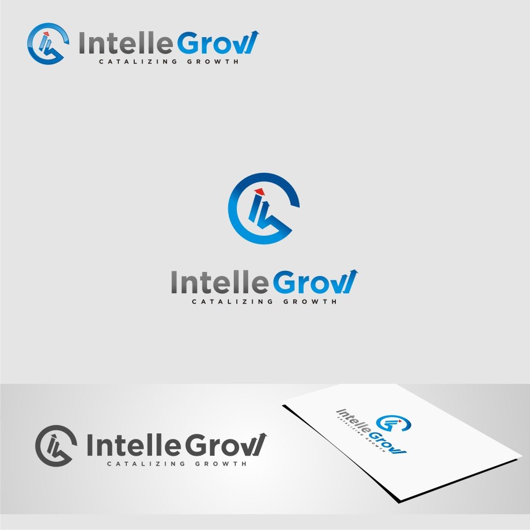 Logo Design by graphicleaf - Entry No. 155 in the Logo Design Contest Logo Design Needed for Exciting New Company IntelleGrow Finance Pvt. Ltd..