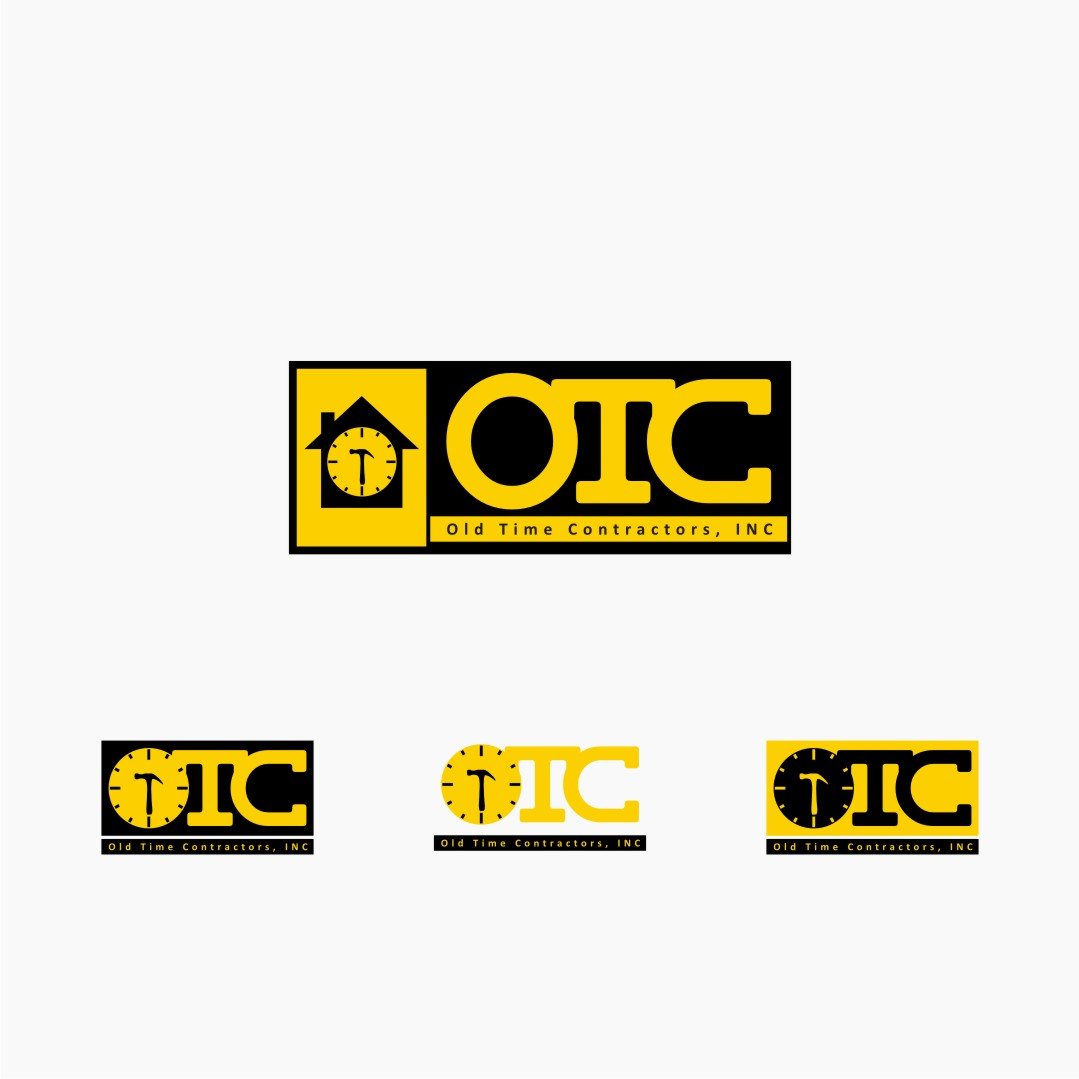 Logo Design by graphicleaf - Entry No. 58 in the Logo Design Contest Old Time Contractors, Inc. (new brand:  OTC, Inc.) Logo Design.