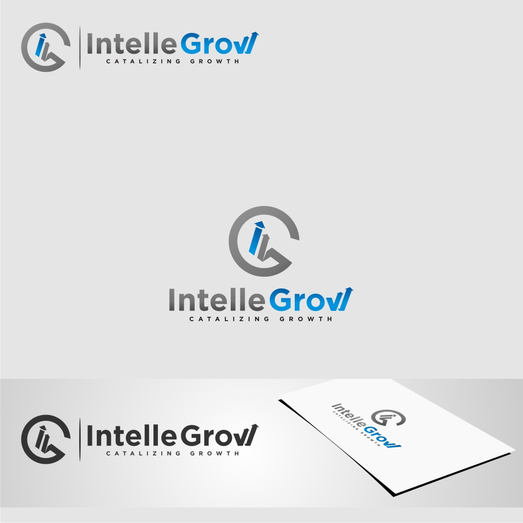 Logo Design by Muhammad Nasrul chasib - Entry No. 157 in the Logo Design Contest Logo Design Needed for Exciting New Company IntelleGrow Finance Pvt. Ltd..