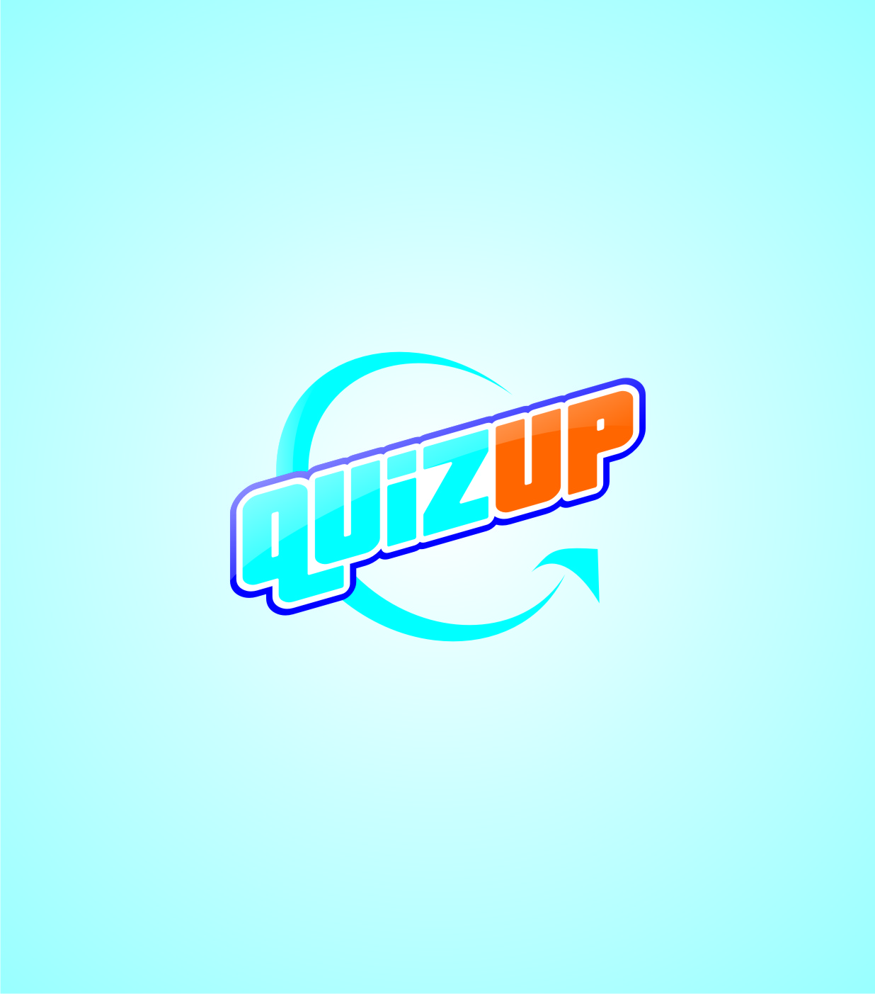 Logo Design by Private User - Entry No. 15 in the Logo Design Contest Logo Design for QuizUp app.