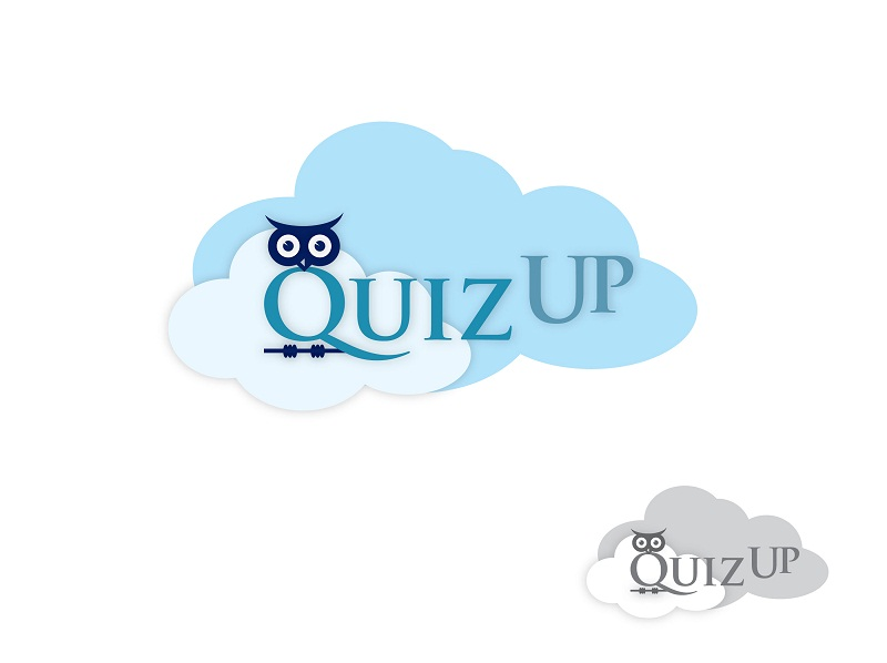 Logo Design by kowreck - Entry No. 16 in the Logo Design Contest Logo Design for QuizUp app.